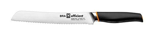 Bra Efficient Cuchillo de pan, Acero Inoxidable, Gris, 3x5x34 cm