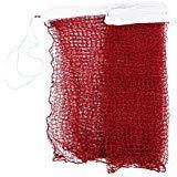 filet de Badminton - TOOGOO(R) filet de Badminton professionnel Standard pour l'Entrainement Tresse 6,0m x 0,75m blanc