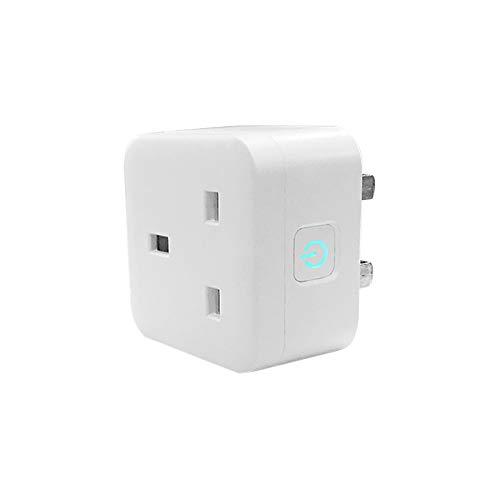 WY-Tong Steckdose Smart Socket Stimme APP-Mobilfunk-Talker Schalter Steckdose Wi-Fi britischen Standard mit Messbuchse