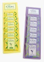 COLIBRI MINI-SACHETS ANTI-MITES-JAUNE-LOT DE 5