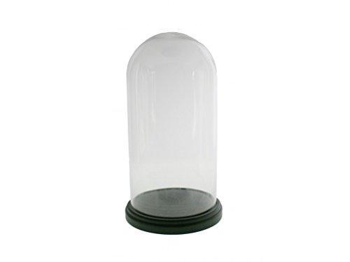 CAL FUSTER - Campana de cristal 44x23cm.