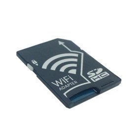 CHENYANG WiFi Adapter Wireless-Speicherkarte tf Micro SD zu SD SDHC SDXC Card Kit für iPhone iPad Android Handy Tablet DC DV SLR Carema