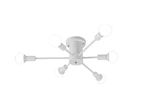 RAPIDLY 6-8-10 Lights Semi Flush Mount Deckenleuchte Zeitgenössische Sputnik Kronleuchter Beleuchtung Bauernhaus Küche Leuchten für Esszimmer Wohnzimmer Schlafzimmer Foyer -