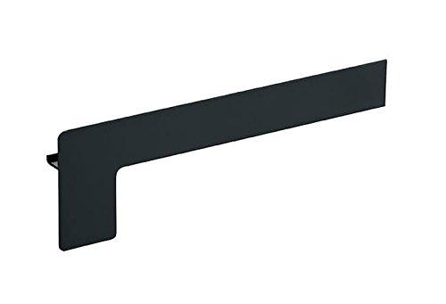 Fensterbank Endstück Aluminium Klinker 50 - 400 mm WEISS SILBER ANTHRAZIT BRONZE