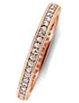 THOMAS SABO Damen-Ring 925er Silber Zirkonia rosé, 50 (15.9)