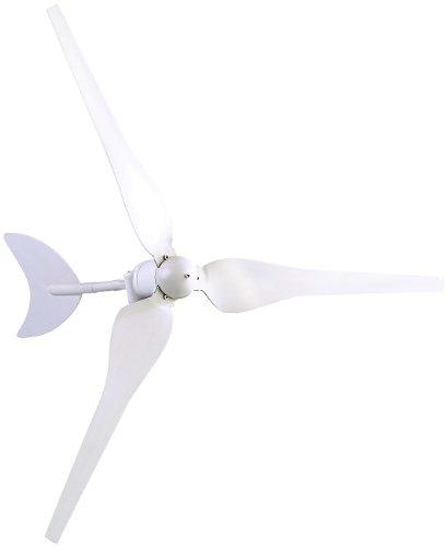 revolt Windkraftanlage: Windgenerator für 12-Volt-Systeme, 50 Watt (Windturbine)