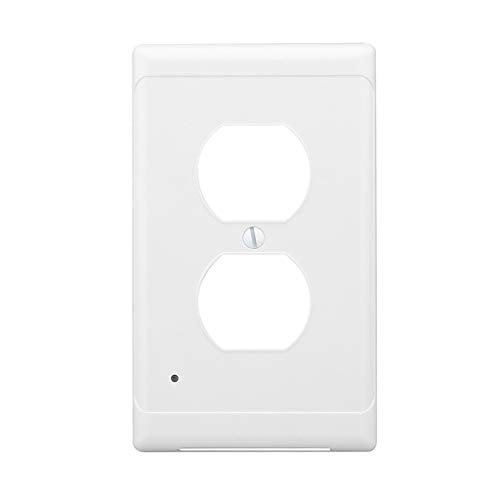 hahuha  LED Induktion Nachtlicht Panel Nachtlicht Panel Sockel Abdeckung mit 2 Schalter Panel -