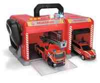 feuerwehrauto dickie Dickie Toys 203716013 Fire Station Feuerwehrstation inkl. Feuerwehrauto und Einsatzfahrzeug