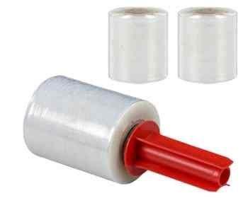 10 Stk. TOP-Wrap Handy Bündelstretchfolie + Abroller / Testangebot thumbnail