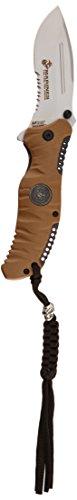 U.S. Marines Erwachsene Usmc-1332 Taschenmesser, Mehrfarbig, M