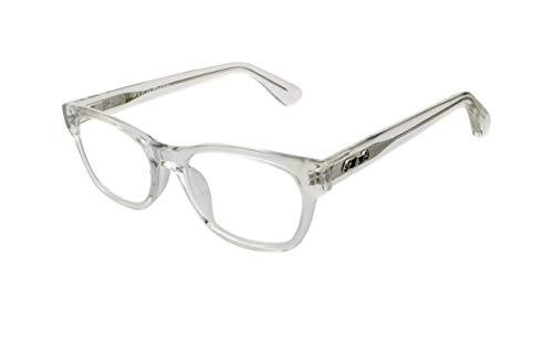 Edison & King Lesebrille Endless - Moderne Kunststoffbrille entspiegelt - gehärtet - aus Acetat (transparent, 3,00 dpt)