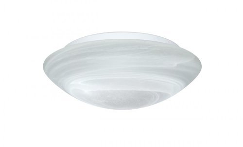 Besa Lighting 977252C 1X60W A19 Nova 10 Ceiling Marble Flush Mount by Besa - Besa Mount