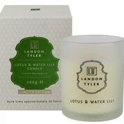 Landon Tyler Duftkerze, Duft: Lotus und Seerose, 200 g -