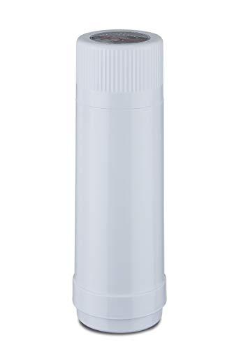 ROTPUNKT Isolierflasche 40- Neuheiten | Doppelwandig| Vakuumisolierung | Zweifunktions-Drehverschluss | BPA Frei- gesundes Trinken | Made in Germany | Warm + Kalthaltung | Glaseinsatz (Polar, 750 ml)