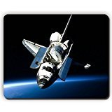 high quality mouse pad,shuttle open space flight light,Game Office MousePad size:260x210x3mm(10.2x 8.2inch) Office Space Mouse Pad