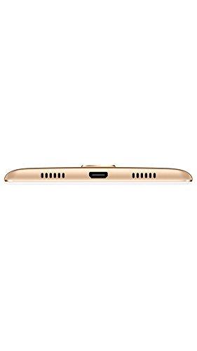 "Honor 6X - Smartphone libre de 5.5"" (lector de huellas, 3 GB RAM, 32 GB ROM, EMUI 4.1 compatible con Android M, Full HD 1080p, Kirin 655 octa core, cámara 12 MP + 2 MP AF, frontal 8 MP), dorado"