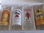 4-shot-glasses-2oz-65ml-beefeater-malibu-sauza-kahlua-by-luminarc
