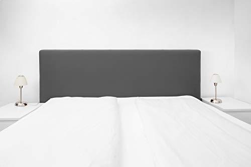Boxspringbezug; Betthusse; Boxspringbetthusse; Staubhülle; (universelle Größe, 140-180cm) Husse - Kopfteilbezug, (Anthrazit) 51880-005