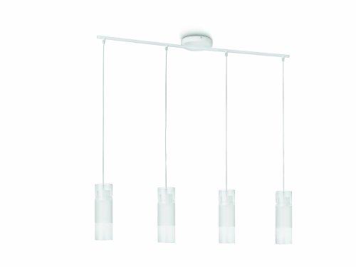 Philips Suspension LED Cusa luminaire d'intérieur Blanc Verre