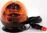 ROTATIVO ELECTRA MAGNETICO 12-24V Transmision por correa (Luz de Emergencia, Rotativo Magnético con Cable, Girofaro, Luz de Advertencia)
