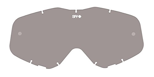 Spy MX Goggle Replacement Lens Klutch/Whip/Targa 3 Smoke Anti-Fog W/Post, One Size