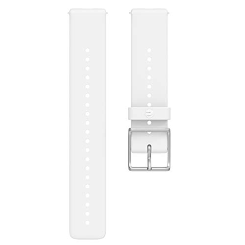 Polar Unisex- Erwachsene Wrist Band Ignite Uhrenarmband, Weiss, M/L -