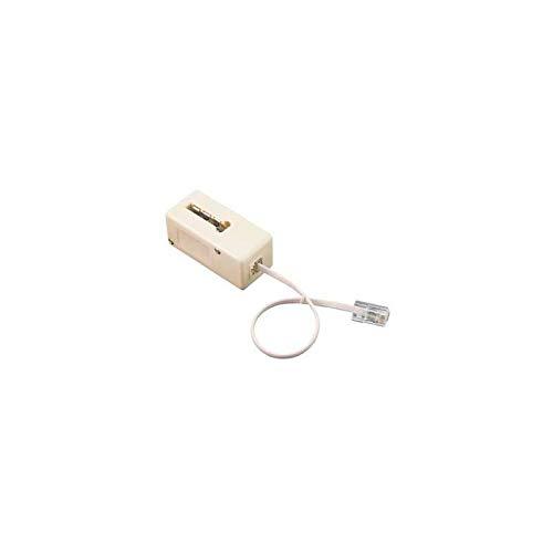 adaptateur - prise téléphone en t femelle vers rj45 mâle - 10 cm - erard 3789