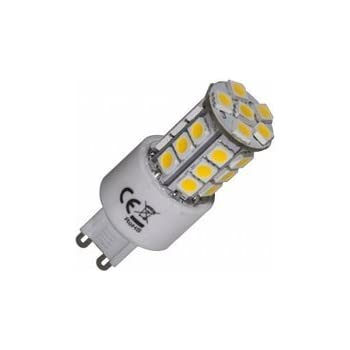 G9 Capsule LED 27 SMD Daylight White Light Bulb (3.5w = 40w ...