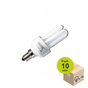 Paulmann 894.09 Energiesparlampe DecoPipe 9W E14  warmwei/ß 89409 dekorativ Leuchtmittel