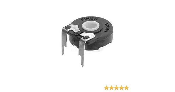 Trimmpotentiometer 10K Ohm Trimmer Piher PT15 f/ür Steckachse
