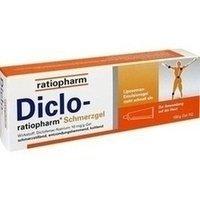 Diclo-ratiopharm Schmerzgel, 100 g (Voltaren Salbe)