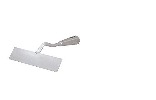 Idealspaten 66861600 Wegeschuffel mit 4-seitiges Stahlmesser in Silber 16cm, 40 x 25 x 15 cm