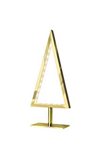 SOMPEX - Lampe à poser Sapin or Led 28 cm Pine