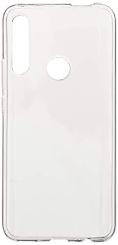 iBetter Coque pour Huawei P Smart Z, Soft Premium TPU Transparent, Anti-Slip, Résistant aux Rayures, pour Huawei P Smart Z Smartphone.Transparent