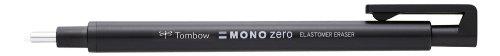 Tombow EH-KUR11 Präzisionsradierer MONO zero nachfüllbar runde Spitze, Durchmesser 2.3 mm, schwarz