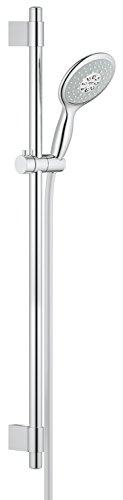 GROHE Power&Soul 130 | Brause- und Duschsysteme - Brausestangenset | 900mm, 4+ STRAHLARTEN, variable Bohrlöcher zur Befestigung, chrom | 27738000 - Grohe Brausen