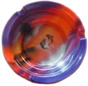 airbrush-glass-ashtray-round-from-indonesia-bali-10cm-5pieces