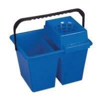 Homexpert MSV v460515Cubo Doble plástico Azul 40x