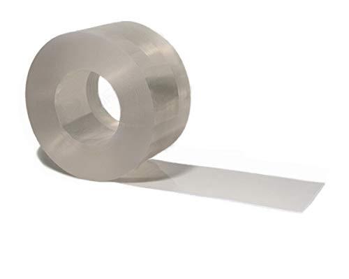 PVC Streifen Meterware als Zuschnitt - 300 x 2mm GLASKLAR transparent