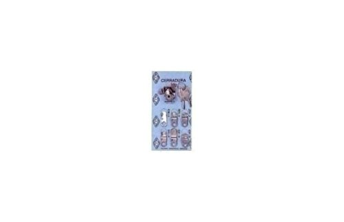 Btv M35224 - Cerradura buzon cartero kit-1 cromado