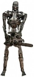 Neca - Figura de endoesqueleto dañado por la batalla de Terminator 2 1