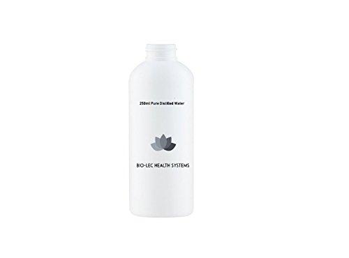 100% pur lent Vapeur Eau distillée de différentes tailles multi-usages utilise par Bio-lec des systèmes de santé