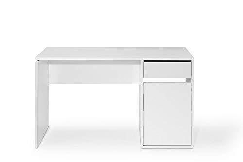 TOP KIT | Mesa de Escritorio Burgos 5210 con cajón y Puerta (Ancho ...