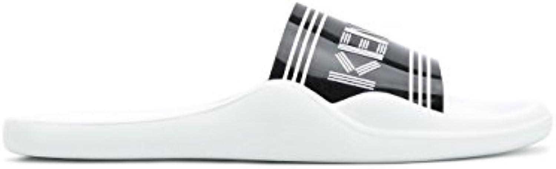 Kenzo Herren F855SD104P7001 Weiss PVC SandalenKenzo Herren F855sd104p7001 Weiss Sandalen Billig und erschwinglich Im Verkauf