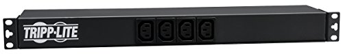 Tripp Lite PDU12IEC - PDU 16A 100-240V 1U Horizontal Rackmount 12 C13 & 2 C19 outlets C20 inlet -