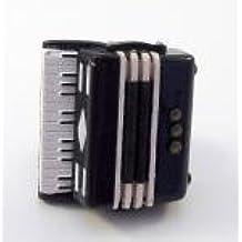 MELODY Jane Casa De Muñecas Acordeón 1:12 Escala Miniatura Instrumento Música Habitación Accesorio