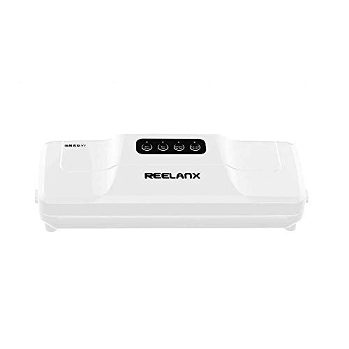 Generic Vacuum Sealer 160W Automatic Food Packing Machine With Starter Kit 15Pcs Bags Best For Household Food Saver Dry & Moist - 220V