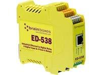 Brainboxes Ethernet to Digital IO Digital relays & 8 Inputs, ED-538 (Digital relays & 8 Inputs) Ethernet-digital-io