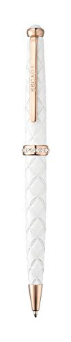 escada-rose-gold-plated-white-abstract-floral-ballpoint-pen-e90026-by-escada