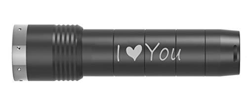 Ledlenser MT14 LED-Taschenlampe, für den Außenbereich, personalisierbar Graviert mit Ihrem Wunschtext - Laser-design